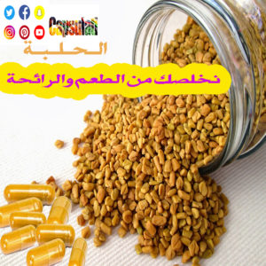 كبسولة الحلبة Fenugreek capsule